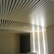 Реечный потолок кубообразного дизайна 80b