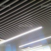 Реечные потолки МультиКуб БАРД, серого цвета