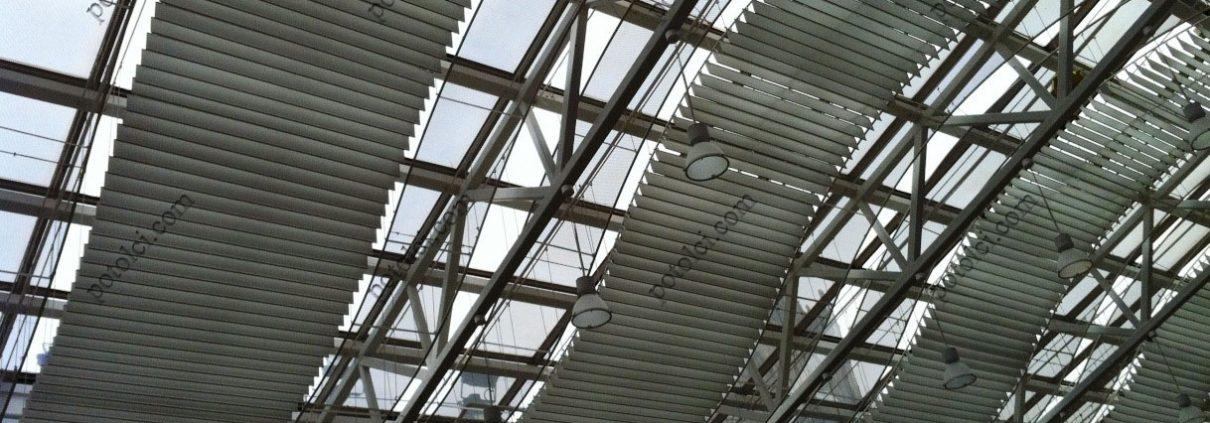 Экранные подвесные потолки волнообразный дизайн
