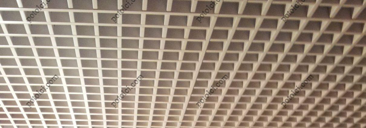 Подвесной решетчатый потолок Грильято