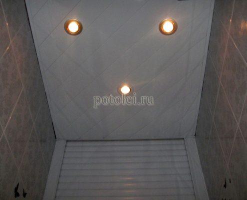 Реечный потолок, тип КФ БАРД