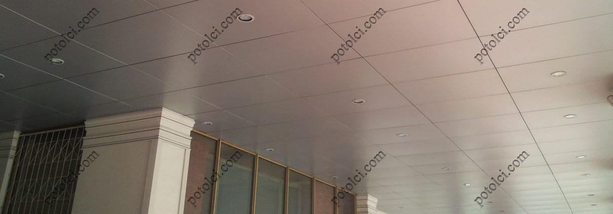 Металлические кассетные потолки Luxalon