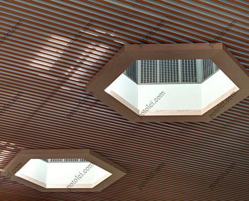 Пластинчатые реечные потолки Бард