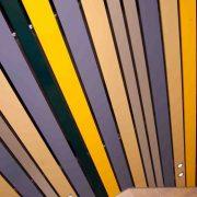 Рейка Албес для потолка Прямоугольный дизайн
