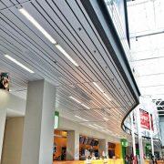 Реечные потолки прямоугольного дизайна Албес