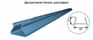 Реечный потолок CESAL S-дизайн