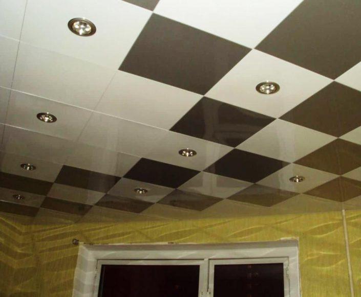 Подвесные кассетные потолки в интерьере