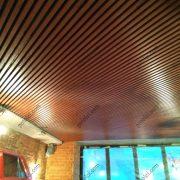 Монтаж потолка Комби БАРД в ресторане на Петровке